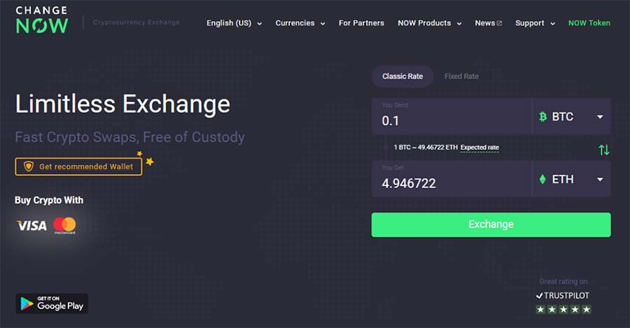 ChangeNOW Exchange Review